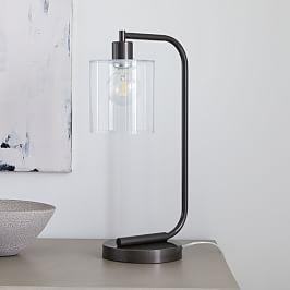 Curvilinear Mid Century Table Lamp Lampe De Table Moderne
