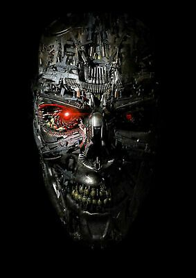 Terminator Dark Fate James Cameron Movie 2019 Art Silk Poster 12x18 24x36
