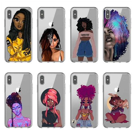 Cellphones & Telecommunications Phone Pouch Official Website Fashion Black Brown Hair Baby Mom Girl Queen Hard Pc Phone Case Cover For Iphone X 5 5s Se 6 Xr Xs Max 7 8 8plus 100% High Quality Materials