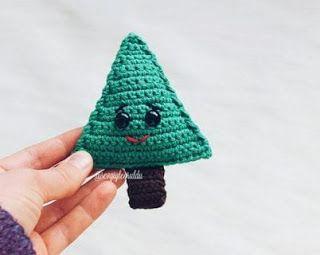 Christmas Tree Kawaii Cuddler™ - Free Crochet Pattern | Ganchillo ... | 255x320