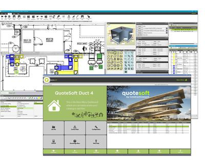 Quotesoft Hvac Software Take Off And Estimating With Fabrication Save Ebay In 2020 Hvac Software Hvac Design Hvac