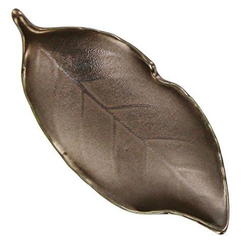 Bronze Leaf Tea Bag Caddy