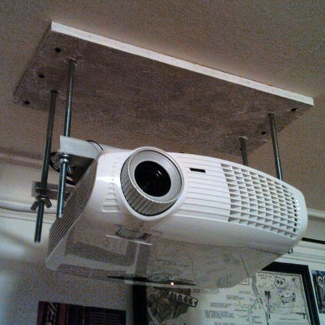 Dirt Cheap Diy Adjustable Projector Ceiling Mount In 2019