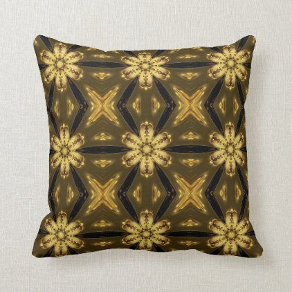 Abstract Color Symmetrical Pattern Throw Pillow Zazzle Com Patterned Throw Pillows Throw Pillows Beautiful Pillows