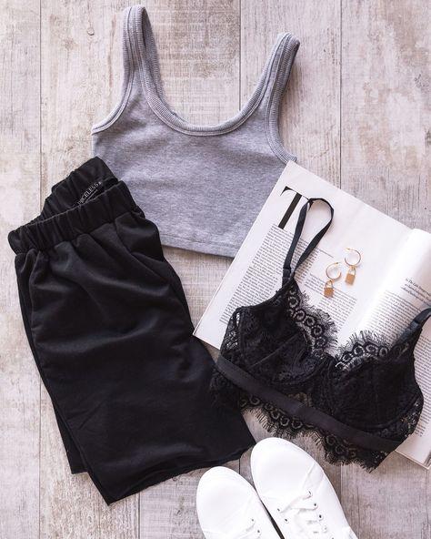 Jessa Black Lounge Shorts