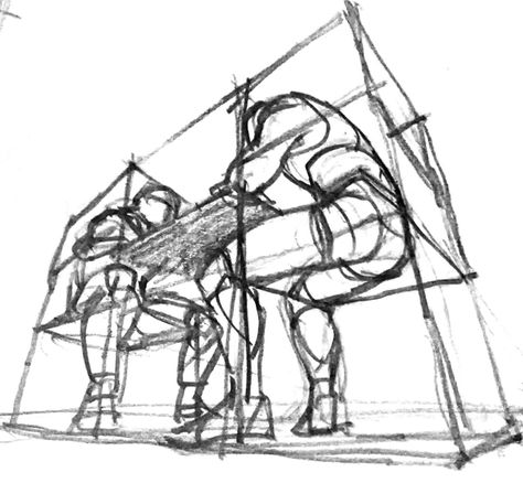 Perspective Drawing Lessons, Perspective Sketch, Body Reference Drawing, Art Reference Poses, Background Drawing, Figure Sketching, Drawing Base, Anatomy Drawing, Drawing Sketches