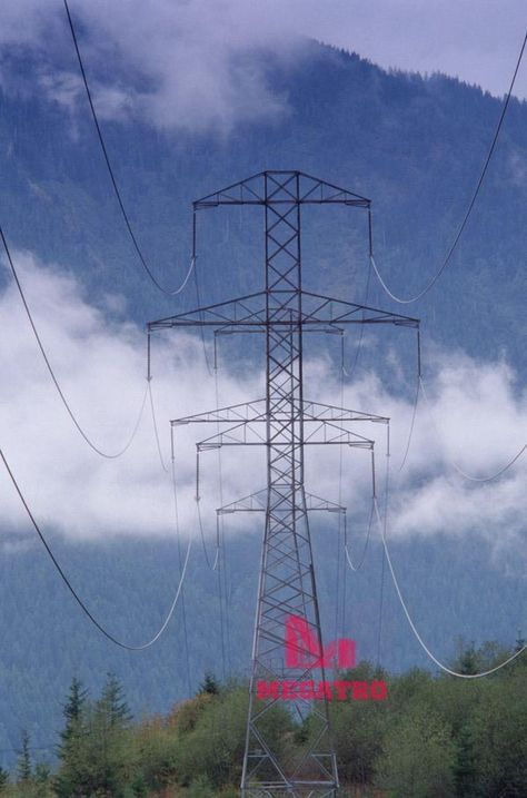 KV Double Circuit Transmission Steel Tower A Doublecircuit - Architects turn icelands electricity pylons into giant human statues