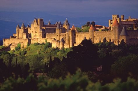 Carcassone was founded by the Visigoths in the fifth century, though the Romans had fortified the settlement earlier. The fortress, which was thoroughly restored in 1853 by the theorist and architect Eugène Viollet-le-Duc, was added to the UNESCO list of World Heritage Sites in 1997.