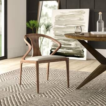 Mercury Row Mullan Bend Upholstered Dining Chair Reviews Wayfair Solid Wood Dining Chairs Dining Chairs Modern Dining Chairs