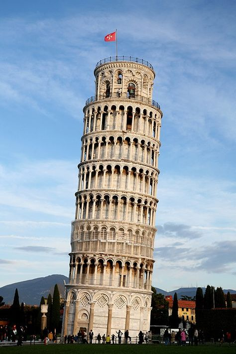 Leaning Tower of Pisa, Italy #Travel