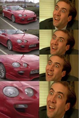 Because if we have to look at Nicolas Cage, it might as well be these hilarious memes.