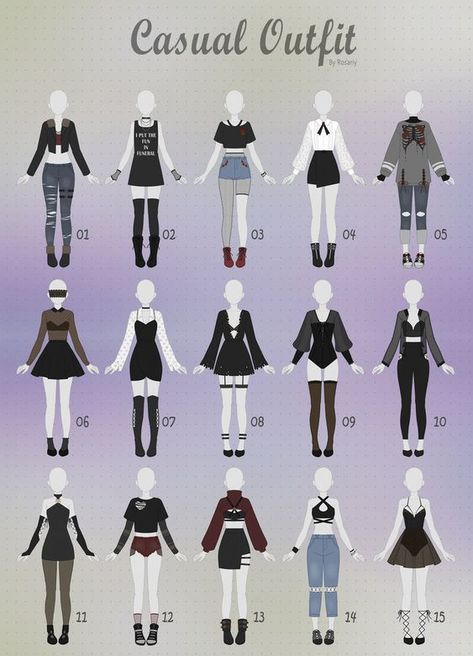 310 Anime Fashion Ideas Anime Outfits Drawing Clothes Character Outfits
