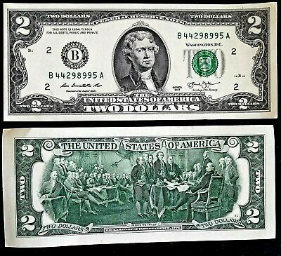 Two Dollar Bill 2 Note 2013 New York Free Shipping In Canada Ebay Two Dollars 2 Dollar Bill Dollar