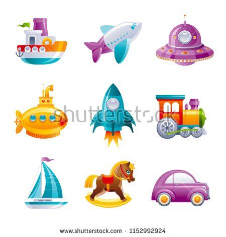 Vectorsicon Com Download Vector Icons Cartoon Sute Vector Toy