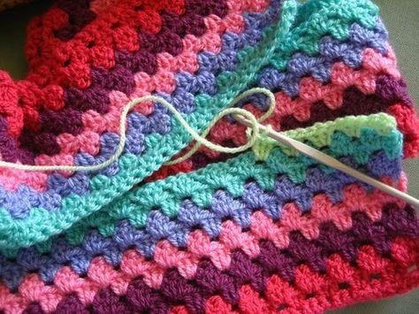 Attic24: Granny Stripe Blanket :: the beginning