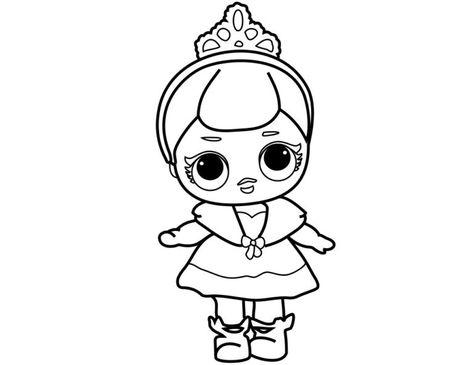 Lol Surprise Doll Para Colorear Imprime Gratis Toda La Serie S