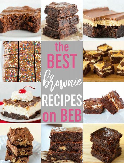 Top 10 List: Favorite Brownie Recipes   Brown Eyed Baker