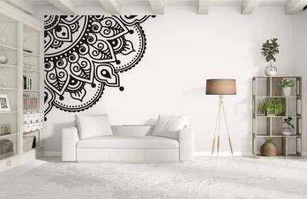 16 Ideas Wall Drawing Ideas Mandala Wall Murals Diy Living Room Decals Best Wall Paint