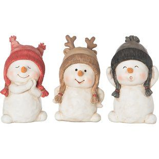 Lenox Peanuts The Christmas Pageant Figurine Set By Lenox Wayfair Snowman Figurine Christmas Figurines Christmas Moose