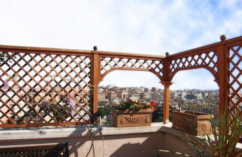Risultati immagini per recinzioni grate per terrazzi | Idee per il ...