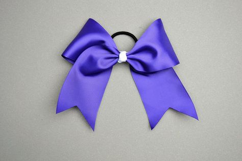 how to make a cheer bow, diy