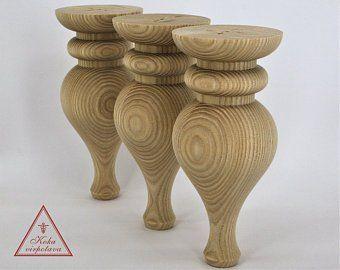 Handmade Wooden Leg Furniture Leg Turned Wooden Leg Sofa Leg Etsy Wooden Furniture Legs Furniture Legs Dining Table Legs