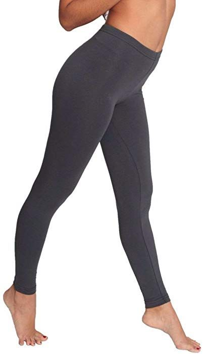2b2791133765 American Apparel Cotton Spandex Jersey Legging, Asphalt, X-Small at Amazon  Women's Clothing store: Leggings Pants