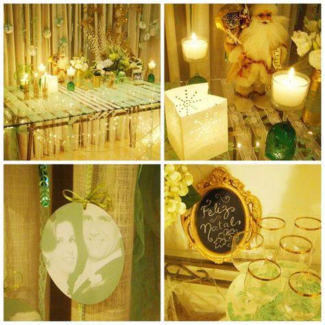 A sweet Christmas party for Grandma! Tons of Charming Ideas via Kara's Party Ideas | KarasPartyIdeas.com #ChristmasParty #HolidayParty