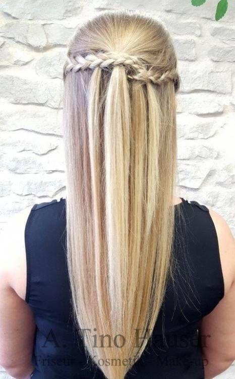 Schon Gebunden Twisted Chignon Frisuren Lange Haare Abiball Lange Haare Frisuren Langhaar