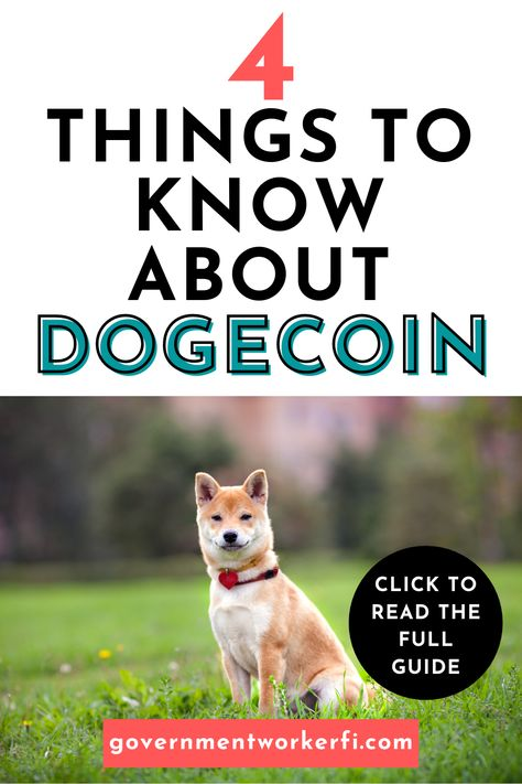 Learn four things about dogecoin. #cryptocurrency #dogecoin