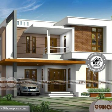 Indian House Plans Free 90 2 Storey House Designs With Balcony 2 Storey House Design Indian House Plans Two Story House Design