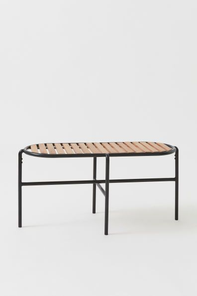 Stupendous Metal And Oak Bench Threads Oak Bench Bench Hm Home Caraccident5 Cool Chair Designs And Ideas Caraccident5Info