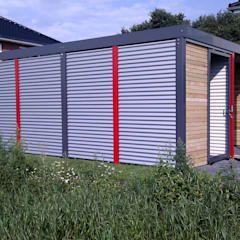 Carport Moderne Garagen Schuppen Von Architekt Armin Hagele Modern Moderne Garage Carport Modern Carport