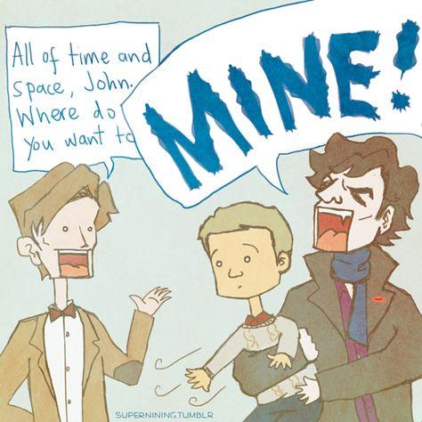 Sorry, John, no Tardis for you.