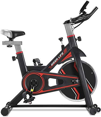 Best Seller Ideer Life Exercise Bike Stationary Indoor Cycling Bike Heavy Duty Exercize Bike Adjustable Indoor Cardio Exercise Bike Home Gym Belt Drive W Puls In 2020 Best Exercise Bike Biking Workout Exercise Bikes