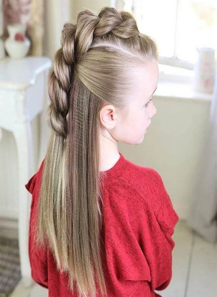 Long Hair Easy Cute Hairstyles For Little Girls 98