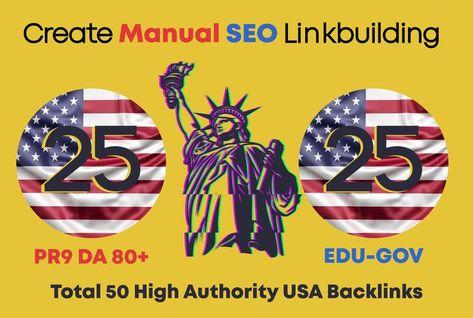 I will do 50 high da pr9,edu backlinks with best google rank, off page seo