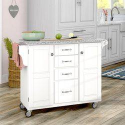 Legler A Cart Kitchen Island With Granite Top Kitchen Island With Granite Top Granite Tops Kitchen Cart