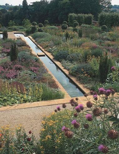 Tom Stuart Smith North Oxfordshire Garden Water Features In The Garden Landscape Design Smith Gardens
