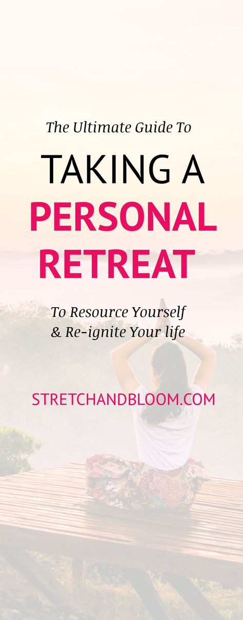 If you've been wondering how to plan a personal retreat, this epic guide to planning a personal retreat has all the details for you.