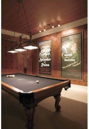 Pin De Cheri Anderson En Bat Basement Media Room Spaces Sala De Ocio Sala De Entretenimiento Sala De Billar