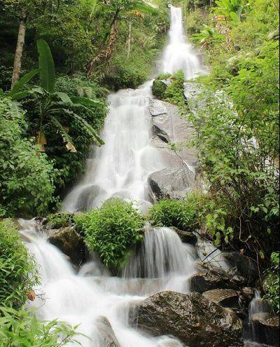 Wisata Wonogiri Air Terjun Girimanik Pemandangan Tempat Air Terjun