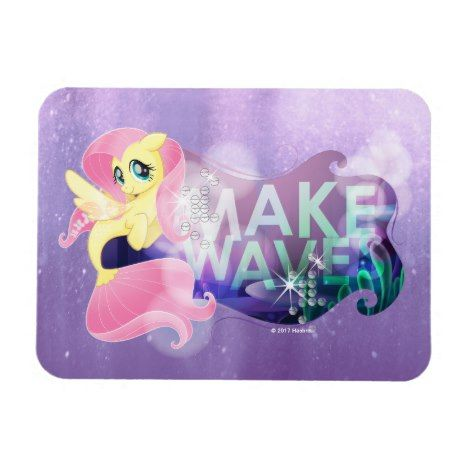 My Little Pony Fluttershy Make Waves Magnet Zazzle Com My