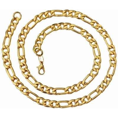 Chains For Men Figaro Chain 18k Gold Figaro Chain Sterling Silver Figaro Chain White Gold Figaro Chain His Gold Chains For Men Chains For Men White Gold Chains