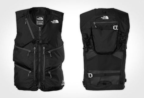 7602bf16b3e3 North Face Powder Guide Vest