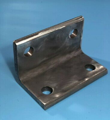 Stainless Steel Angle Bracket 2 3 8 X 2 3 8 X 4 Long And 5 16 Thick Ebay Stainless Steel Angle Angle Bracket Zinc Coating