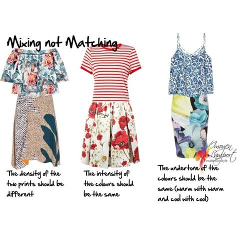 Inside Out Style: how to mix prints without matching