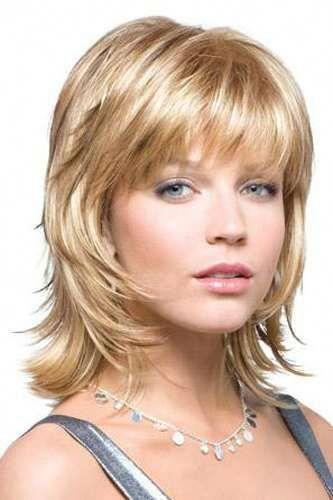 Bailey #mediumwavyhairstyles #blondeBob