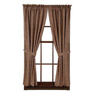 Plaid Wayfair Plaid Curtains Curtains