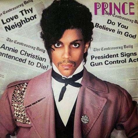 records Prince- Controversy (1981)...